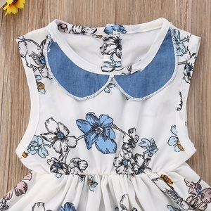 Other - 🎈🎈Prinicess Toddler Girls Floral Party Dress